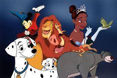 A Crash Course in the History of Disney Animation Through Disney+