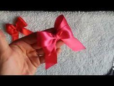 🎀Cómo hacer un LAZO o MOÑO doble con los dedos? Tutorial para hacer un l... Headbands, Make It Yourself, Crochet, Christmas, Scrapbooking, Diy, Videos, Amor, Home
