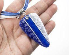 Bleu Scintillant Necklace