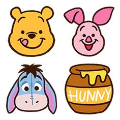 Winnie The Pooh Themes, Cute Winnie The Pooh, Winnie The Pooh Birthday, Winnie The Pooh Cartoon, Mini Drawings, Disney Drawings, Easy Drawings, Disney Doodles, Kawaii Disney
