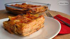 Pasta con melanzane alla parmigiana