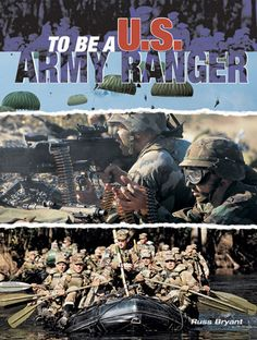 Softcover, 160 pages. ''For a picture book, To Be A U.S. Army Ranger provides remarkable detail on what to expect in Ranger training from boot camp to Ranger School. This would be a useful read to any soldier who is considering becoming a Ranger.'' Army, April 2005. A chronological photographic display with personal stories of a class of recruit as they progress through Ranger training. Superb full color action photos. Author: Russ Bryant.  $28.31