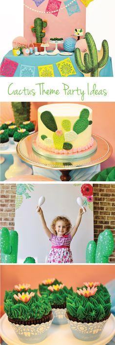 fiesta party ideas; fiesta theme, cactus party ideas, cactus theme, cactus cake, fiesta photo booth