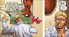 Johnny Storm and Spider-Man