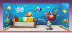 Outer space, wall stickers http://www.flymybutterfly.com/en/