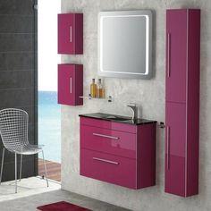 Modern Bathroom Colors for Stylishly Bright Bathroom Design - purplish ink