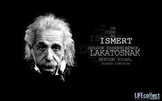 Albert Einstein #idézet | A kép forrása: LIFEconnect English Quotes, Albert Einstein, Motivation, Sayings, Youtube, Inspiration, Pictures, Biblical Inspiration, Lyrics
