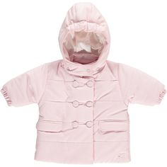 Emile et Rose - Baby Girls - Wadded double breasted microfibre Jacket