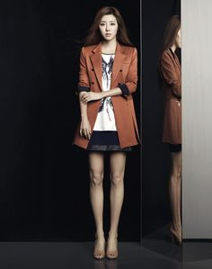 Park Han Byul for Blue Pepe (Fall 2013