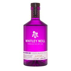 A nice flavour variant from the original Whitley Neill with sweet rhubarb and a subtle ginger spice. Despite being flavoured it is a very versatile gin an can be accompanied by an array of flavoured tonics. Wine And Liquor, Liquor Bottles, Vodka Bottle, Brockmans Gin, Gin And Tonic, Whitley Neill Gin, Cocktails For Beginners, Rhubarb And Ginger Gin, Geneva