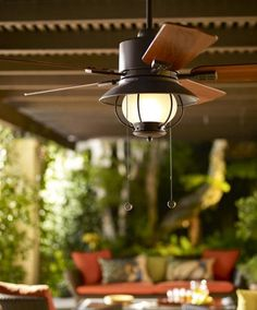 Be prepared for the summer heat with harbor breeze outdoor ceiling cool outdoor fan aloadofball Gallery