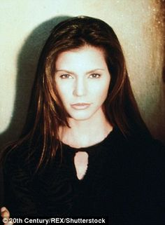 Charisma Carpenter played Cordelia Chase during the show's high school years (pictured in 1997)