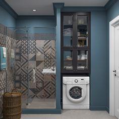 Bathroom Furniture Design, Bathroom Design Small, Bathroom Interior Design, Interior Design Living Room, Modern Bathroom, Minimalist Bathroom, Minimalist Interior, Laundry Room Bathroom, Shower Bathroom