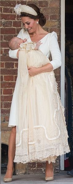 9 July 2018 - Duchess of Cambridge attends christening of Prince Louis