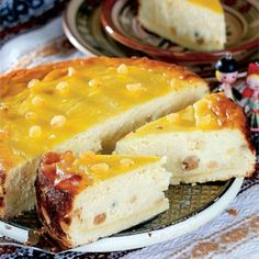 traditional Easter cheesecake from my romania -http://www.gourmet-european-recipes.com/pasca.html