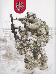 7th Special Forces Group (Airborne) shared MARS Special Operations ... #Paratrooper #airborne
