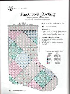 PATCHWORK STOCKING by ALIDA MACOR 3/4