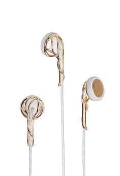 ELLA Gold Earbuds... This reminds me, I need new earbuds. My last ones broke :(