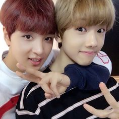 Haechan and Jisung