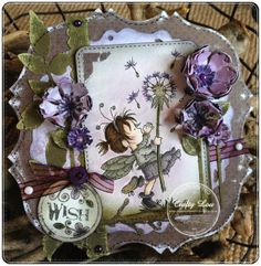 what a lovely sunny weekend :) hope you are doing ok? i have a little LOTV make to share today and really love the purple colou. Shaped Cards, Basic Grey, Lily Of The Valley, Small World, Stampin Up, Card Making, Challenges, Fairy, Paper Crafts