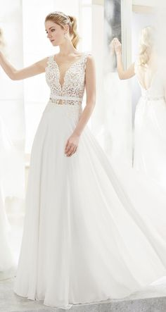 61a85cfdf7 Courtesy of Nicole Spose Wedding Dresses Romance Collection