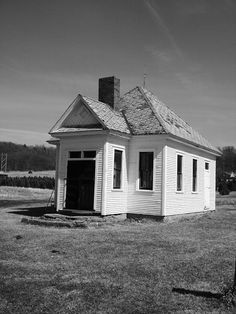 One room school house - Putnam County, Illinois