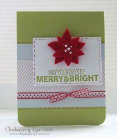 http://www.checkerberrylane.com A Muse|Studio Happy Holidays stamp set