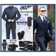Spectre James Bond 24 Suit
