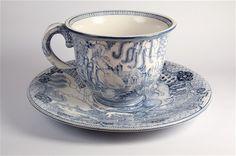 Alice tea cup art