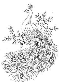 Hungarian Embroidery Patterns Vintage Embroidery Transfer 7297 Peacocks for towels cases cloths scarfs pillows Hungarian Embroidery, Iron On Embroidery, Embroidery Flowers Pattern, Hardanger Embroidery, Embroidery Transfers, Learn Embroidery, Silk Ribbon Embroidery, Crewel Embroidery, Machine Embroidery