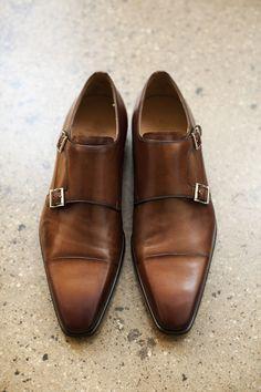#man #shoe #doublemonk