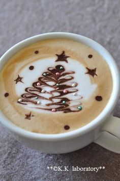#Coffee Latte for #Christmas