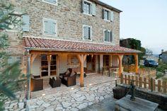 Mediteran house Home Interior Design, Patio, Stone, Outdoor Decor, House, Home Decor, Gardens, Court Yard, Yard