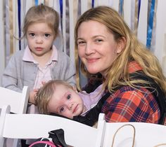 Drew Barrymore Gets a New Tattoo for Her Daughters.: Drew Barrymore Gets a New Tattoo for Her Daughters Celebrity Baby Names, Celebrity Babies, Celebrity Gossip, Celebrity Women, Celebrity Weddings, Hayden Panettiere, Drew Barrymore Daughter, Barrymore Family, Two Daughters