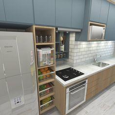 Oie pessoal! A COZINHA é ambiente que vocês mais querem ver por aqui! Essa é uma das que mais amo!  A funcionalidade e as cores ganharam o meu coração! Veja o projeto ➡ Executada ➡ E o ANTES! Obrigada por ajudarem e sempre acompanhar por aqui o nosso trabalho!   #criarinteriores #lovedesign #lovedesign #cozinha #ape #cozinhapequena #kitchen #desingdecor #designdeinteriores #arquitetura #arquiteturadecoracao #arquiteturadeinteriores #cool #instagood #instacool