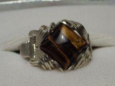Goldstone Gemstone Ring In Sterling Silver #BobsFashionJewelry #Wrap