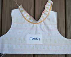 ikat bag: Racerback Summer Dress Part 2 - Binding with Knit