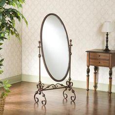 Rowan Cheval Antique Bronze Mirror