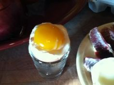 Soft boiled eggs - might be healthier for you than a scrambled egg.  Why?  Because when we break open an egg and cook it, it allows those fats in the yolk to become oxidized.  So when I have eggs, I often soft-boil them.  They are great with beans & greens!