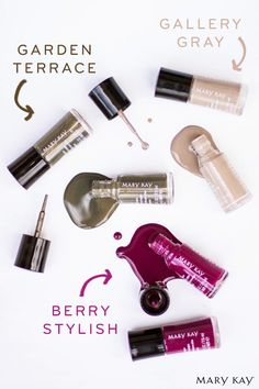 Let your hands be as expressive as your lips with the new Limited-Edition† Mary Kay® Nail Lacquers!