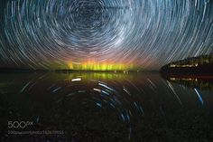 Facing South... A composite of 100 captures of the Southern Lights and the Milky Way... stacked together to achieve the star trail. Camera: ILCE-7RM2 Lens: Samyang 12mm f/2.8 ED AS NCS Fisheye Lens Focal Length: 12mm Shutter Speed: 25sec Aperture: f/2.8 ISO/Film: 2500 Image credit: http://ift.tt/29TK1Qq Visit http://ift.tt/1qPHad3 and read how to see the #MilkyWay #Galaxy #Stars #Nightscape #Astrophotography