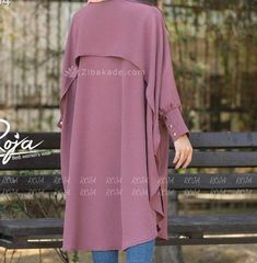 Stylish Clothes For Women, Girls Fashion Clothes, Coats For Women, Stylish Outfits, Girl Fashion, Womens Fashion, Sewing Collars, Hijab Fashion, Fashion Outfits