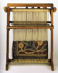 William Morris - Miniature Carpet Loom This is charming!