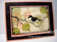 Little Birdy – Stampin' Up! Card  