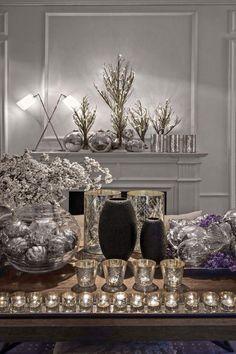 Silver & white Xmas