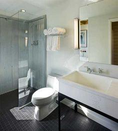 Revestimientos baños | duchas en metal corrugado - DecoraHOY