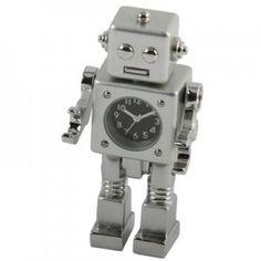 cute robot clock