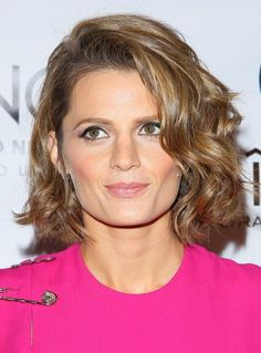 Literally, though, number one favorite thing about Stana Katic: when she does this adorable little pursing her lips thing. I mean, look at her. She is what perfection is.