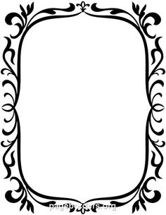 Printable vintage border. Use the border in Microsoft Word or other programs for creating flyers, invitations, and other printables. Free GIF, JPG, PDF, and PNG downloads at http://pageborders.org/download/vintage-border/