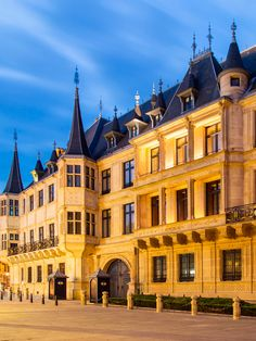 Luxembourg is the only grand duchy left in the world, with the Grand Ducal Palace, built in the century, as the majestic home of its grand duke. Le Luxembourg, Grand Duke, Main Attraction, Chateaus, 16th Century, Palaces, Amazing Places, Libraries, Castles